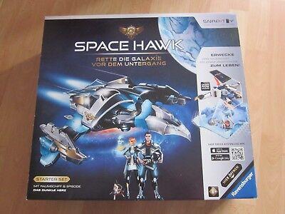 Ravensburger Starterset Space Hawk inkl. Episode Das dunkle Herz Raumschiff 8J.+