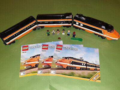Lego Creator Expert Set 10233 Horizon Express *Complete/No Box* With 6 Figures