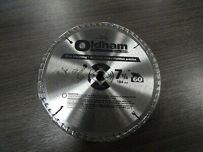 B7254760-10 Oldham 7-1/4 in. Dia. x 5/8 in. Carbide Tipped Circular Saw Blade (Oldham Circular Saw)