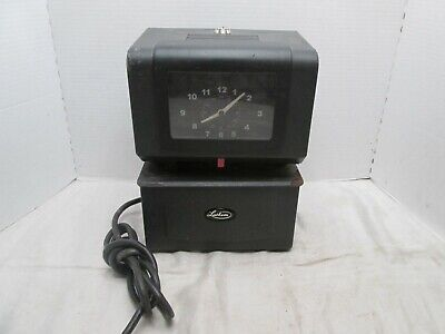 Lathem Model 4001 Time Clock Punch Card Recorder Factory Industry