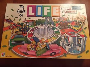 The Game of Life Simpsons Edition