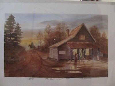 John Kollock Art Watercolor Print -