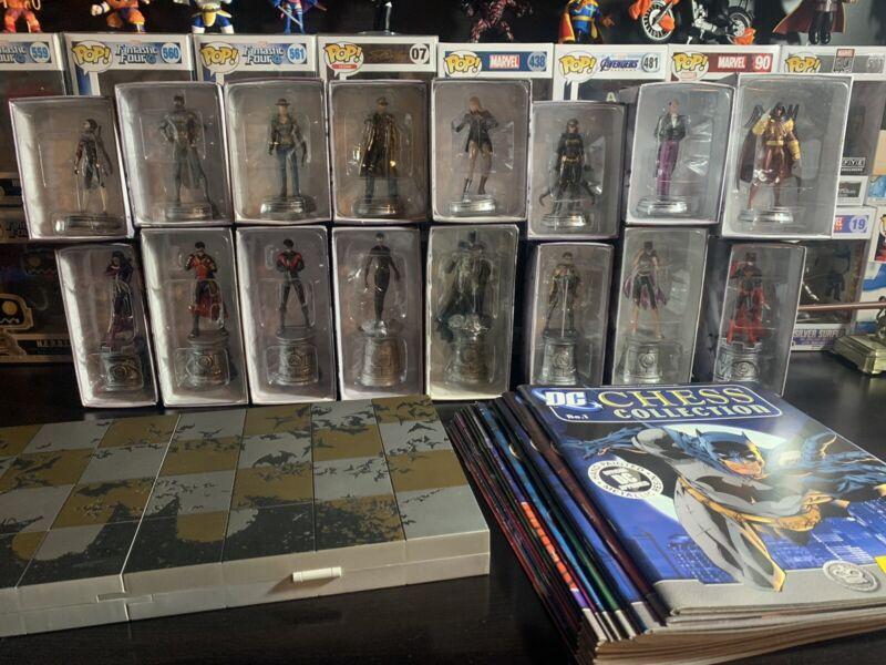 Eaglemoss DC Chess Collection 1-32