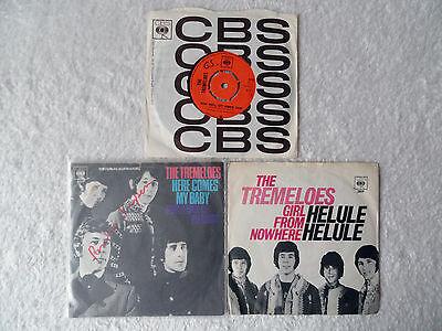 "THE TREMELOES - Singles  3x Paket 7"" Sammlung  Beat Star-Club Yardbirds Beatles"