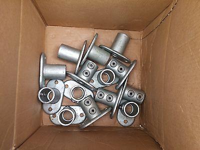 New Key Clamp Base Plate Hub 42mm Scaffold Tube Steel Pipe 1 2132 1.65