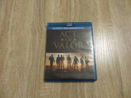 Act of Valour - Region A Blu-Ray Disc and DVD Set