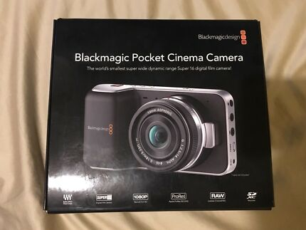 Blackmagic Pocket Cinema Camera bmpcc
