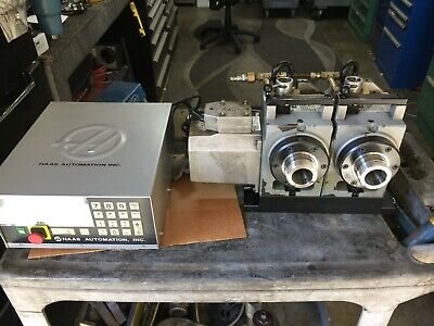 Haas Sigma Dual 4th Axis 5c Collet Indexer Brushless Controller