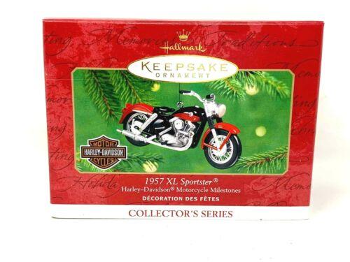 Hallmark Keepsake Ornament, 1957 XL Sporster Harley Davidson, 2001