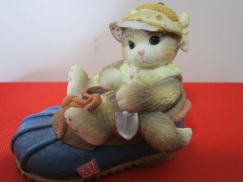"Vintage Calico Kittens Figurine ""YOU"