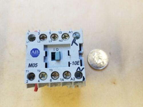 A-B/Allen-Bradley 100-M05NZ-3/MO5NZ 12A Contactor 24VDC Coil