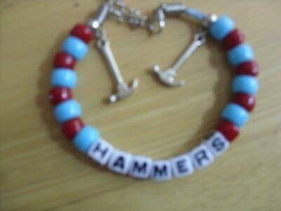 westham united hammers bracelet