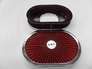 12'' X 2'' OVAL EXTREME FLOW   AIR CLEANER    425