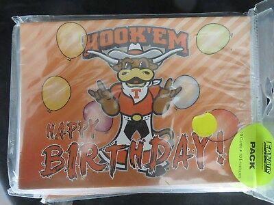New Texas Longhorns Birthday/Anniversary/Everyday Cards MSRP $15