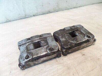 Harley Davidson EVO Touring Dyna & Softail Cylinder Head Chrome Rocker Boxes for sale  Shipping to Canada
