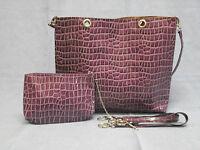 Borsa Da Donna Con Borsetta Lilla Rebecca Molenaar -  - ebay.it