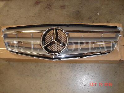 Mercedes-Benz C-Class W204 Genuine Front Hood Grille C300 C350 C250 NEW