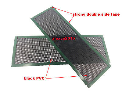 2 PCS I/O Shield Backplate Baffle For All Motherboard Safe Easy DIY No Any Blank