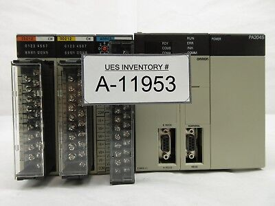 Omron C200he Programmable Logic Controller Plc Sysmac Used Working
