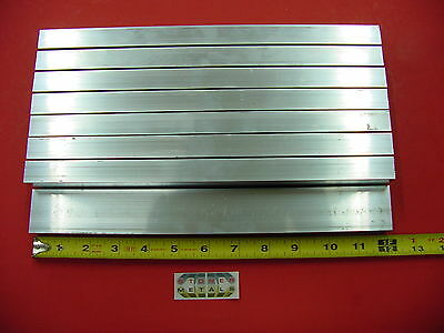 8 Pieces 34x 1-12x 18 Wall Aluminum Rectangle Tube 6063 T52 X 12 Long