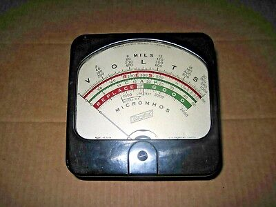 Hickok 510x Tube Tester Panel Meter Tested P.
