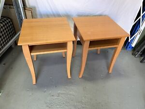 2 x bedside Tables - Bargain $30 for the Pair