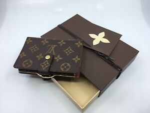 New Authentic Louis Vuitton Viennois Portefeuille Wallet