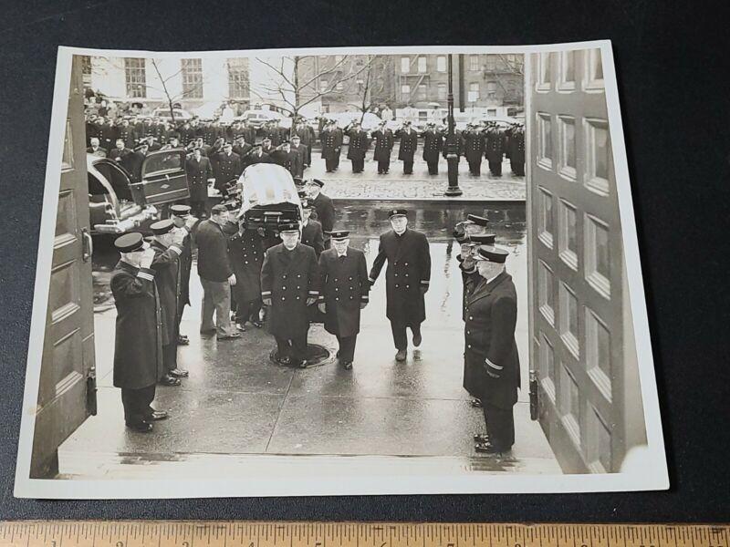 Vintage Fire Department Photograph 1960s Fireman