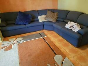Large Blue Sofa Lounge Suite Albany Creek Brisbane North East Preview