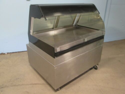 """ALTO-SHAAM"" HD COMMERCIAL LIGHTED SELF-SERVICE HOT FOOD/CHICKEN MERCHANDISER"