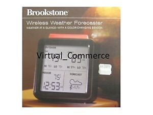 BROOKSTONE-Wireless-Weather-Forecaster-At-a-Glance