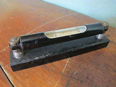 Vintage Machinist Level 5 34 Tool Gauge V Block Base