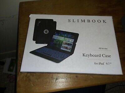 ZAGG SlimBook Keyboard Case for iPad Pro 9.7 - Black All In One