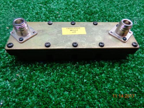GE M/a Comm Harris Radio Repeater UHF 380-470 Harmonic L pass Filter 19D902856G3