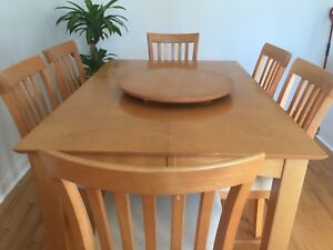 SOLD-Dining Table Set (8 seats)