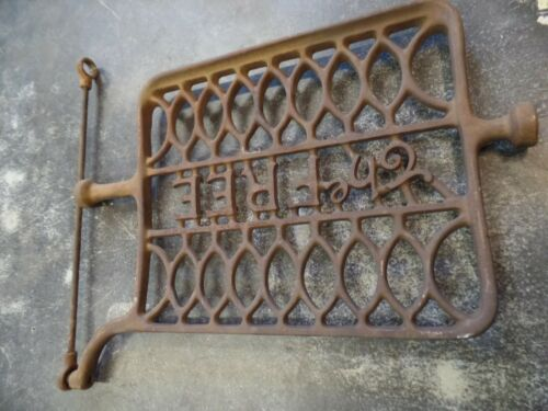 "Antique Vintage Treadle Sewing Machine Cast Iron Foot Pedal ""The Free"" Ornate"