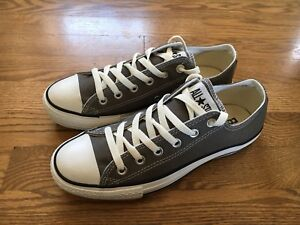 Converse All Star low top NEUF NEW gris grey 6.5/8.5