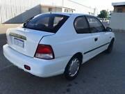 2000 Hyundai Accent Hatchback, MANUAL LOW KMS Maddington Gosnells Area Preview