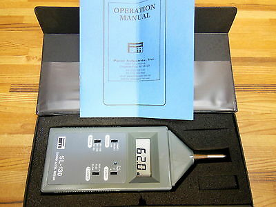 Pacer Industries Sl130 Digital Sound Level Meter