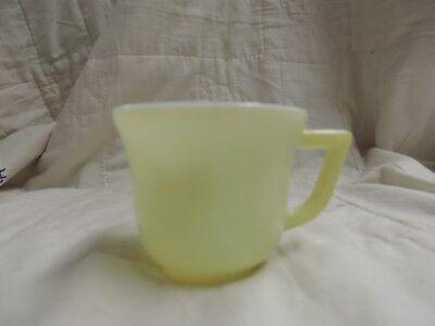Vintage Pastel Yellow Child's CUP Mug