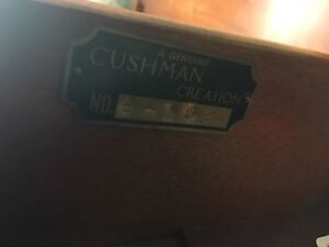 Cushman Creation Solid Wood Double Bed