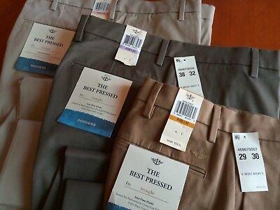 Men's Dockers Best Pressed Khaki Dress Pants (Best Dress Pants For Men)