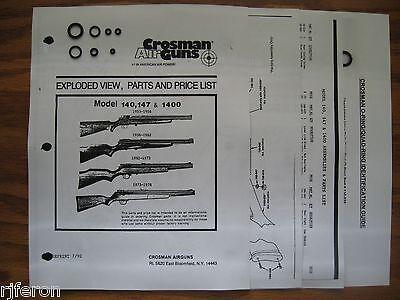 Accessories Sporting Goods 38t Air Pistol .177 Pellet Bb Gun Owners Manual Original 1970's Crosman 38c