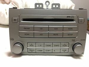 Hyundai i20 radio/cd player (security code attached) Dural Hornsby Area Preview