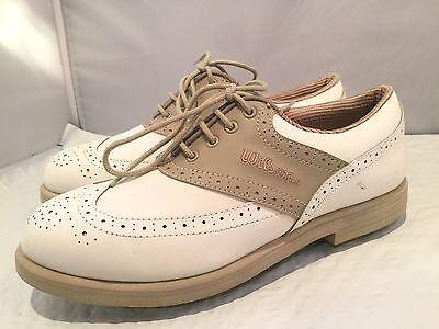 Wilson ProStaff Women's Golf Shoes Size 7 M