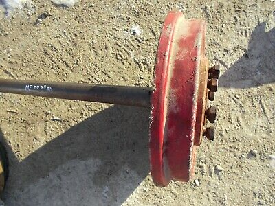Massey Ferguson To35 Tractor Right Drive Axle Assembly W Hub Studs