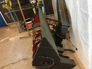 John Deere 42 inch snow blower