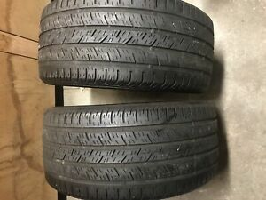 245/40/17 91H Continental ContiProContact -TWO TIRES ONE PAIR-