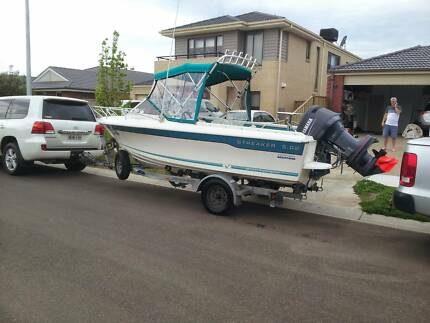 STREAKER 5.02 SPORTS RUNABOUT 115HP Point Cook Wyndham Area Preview
