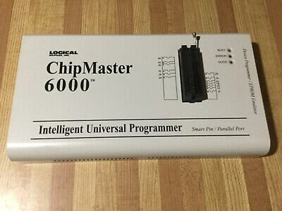 Logical Devices Chipmaster Chip Master 6000 Intelligent Universal Programmer